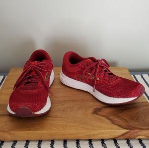 BROOKS   Revel 3 Red & Gold Running Shoes   6.5